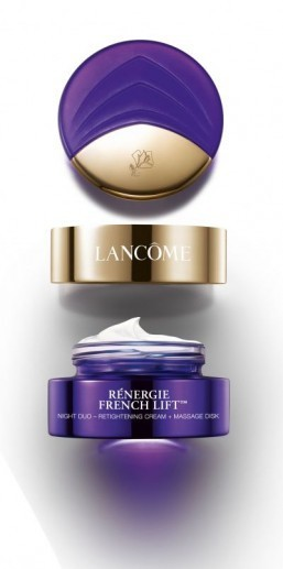 Lancôme launches 2-in-1 night cream with massage disk