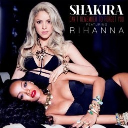 Shakira posts 'Can't Remember to Forget You' featuring Rihanna
