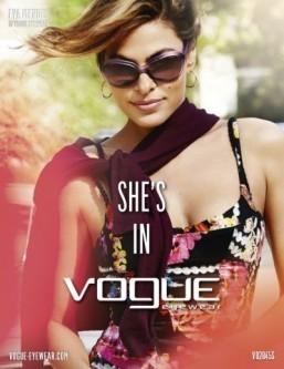 Eva Mendes returns in latest Vogue Eyewear campaign