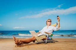 Land of the diligent: two-thirds of Americans work while on vacation