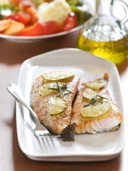 Help your kids ace their tests with a salmon dinner