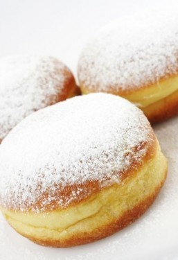 The powdered sugar on Dunkin' donuts a little less unhealthy now