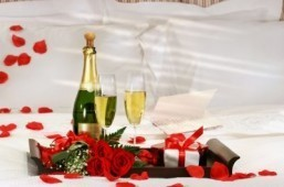 What you get for a $500,000 Valentine's Day hotel package