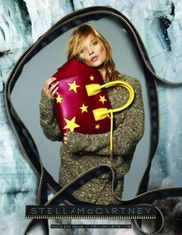 Kate Moss back at Stella McCartney for fall/winter campaign
