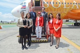 Solaire Resort and Casino unveils its new plane livery