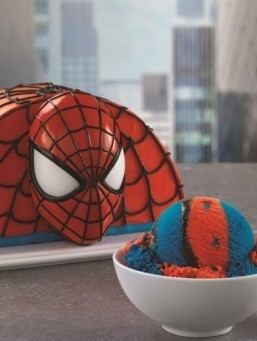 Look out! Here comes the Spider-Man ice cream