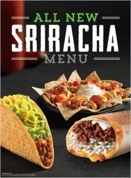 Taco Bell confirms it's testing Sriracha-themed menu