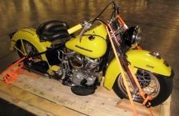 Bike stolen in 1972, destined to Australia is intercepted at LA/LB Seaport
