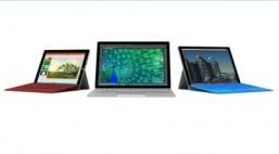 Microsoft unveils first laptop, Windows 10 smartphones
