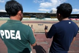 PDEA holds training on use of body cameras, drones