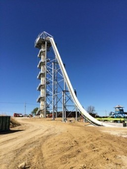 Tallest water slide in the world being built in the US