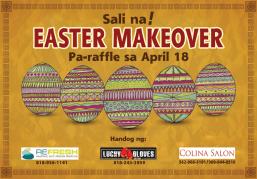 Balita announces Easter Makeover raffle promo