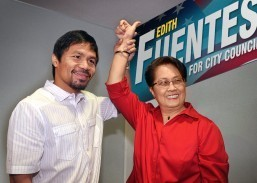 Pacquiao endorses Fil-Am's candidacy for Glendale council seat
