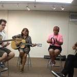 La Habra art gallery holds 1st songwriting workshop