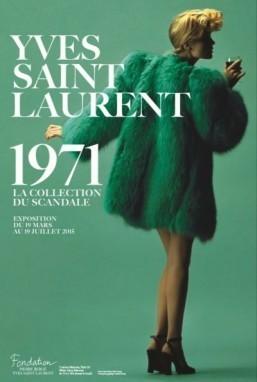 Paris exhibit revisits Yves Saint Laurent's 'scandalous' 1971 collection